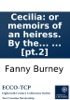 Cecilia: or memoirs of an heiress. By the author of Evelina. In five volumes. ... [pt.2]