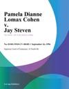 091696 Pamela Dianne Lomax Cohen V Jay Steven