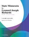 071896 State Minnesota V Leonard Joseph Richards