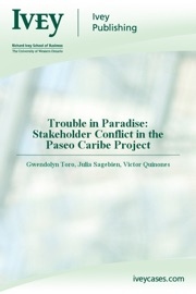 Trouble In Paradise Stakeholder Conflict In The Paseo Caribe Project