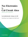 Nec Electronics V Cal Circuit Abco