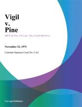 Vigil V. Pine