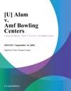 Alam V Amf Bowling Centers