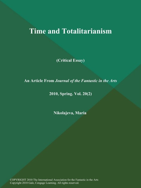 Essay Learning English Time And Totalitarianism Critical Essay By Maria Nikolajeva On Apple Books What Is A Thesis Statement For An Essay also Essay On Science And Society Time And Totalitarianism Critical Essay By Maria Nikolajeva On  About English Language Essay