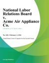 National Labor Relations Board V Acme Air Appliance Co