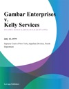 Gambar Enterprises V Kelly Services