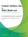 United Airlines Inc V HSBC Bank USA NA