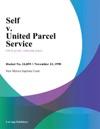 Self V United Parcel Service