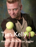 Juggler Tim Kelly