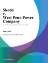 Skoda V West Penn Power Company