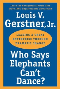 Who Says Elephants Can't Dance? Book Cover