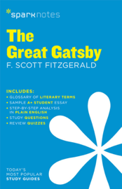 The Great Gatsby SparkNotes Literature Guide book