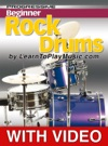 Beginner Rock Drums Lessons - Progressive With Video