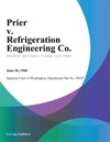 Prier V Refrigeration Engineering Co