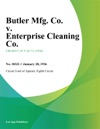 Butler Mfg Co V Enterprise Cleaning Co