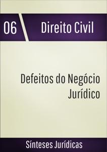 Defeitos do negócio jurídico Book Cover