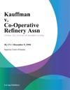 Kauffman V Co-Operative Refinery Assn