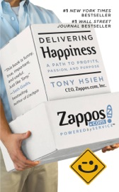 Delivering Happiness - Tony Hsieh Book