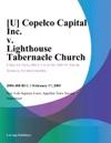 U Copelco Capital Inc V Lighthouse Tabernacle Church