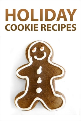 Holiday Cookie Recipes book cover