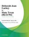 Deborah Jean Lackey V State Texas 062194