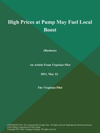 High Prices At Pump May Fuel Local Boost Business
