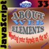 About Web Elements 33