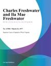 Charles Freshwater And Ila Mae Freshwater