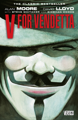 V for Vendetta - Alan Moore & David Lloyd book