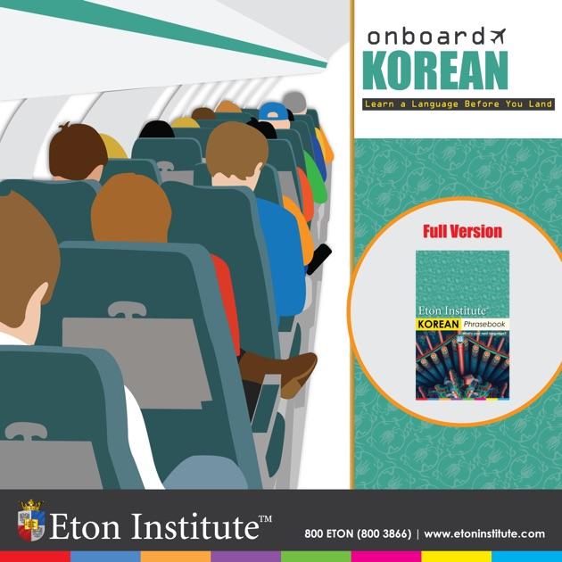 Korean Onboard by Eton Institute on Apple Books