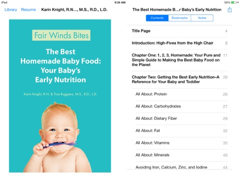 The Best Homemade Baby Food: Your Baby's Early Nutrition by Karin Knight &  Tina Ruggiero on Apple Books
