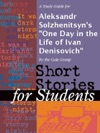 A Study Guide For Aleksandr Solzhenitsyns One Day In The Life Of Ivan Denisovich