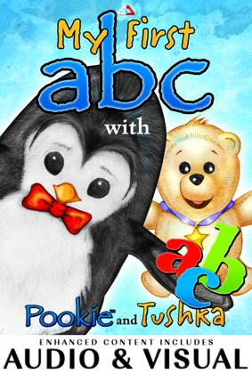 My First ABC With Pookie and Tushka book cover