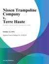 Nissen Trampoline Company V Terre Haute