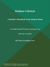 Outdoor Lifestyle: A Retailer's Handbook to the Outdoor Room