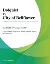 Dolquist V City Of Bellflower