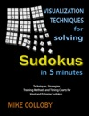 Visualization Techniques For Solving Sudokus In 5 Minutes