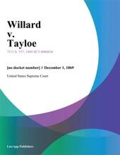 Willard V. Tayloe