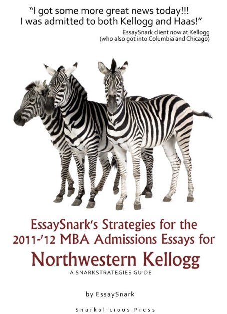 northwestern kellogg essays Northwestern university's kellogg school of management is a close-knit community that values a diverse community and philanthropy at the same time, diversity in.