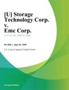 U Storage Technology Corp V Emc Corp
