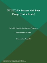 NCLEX-RN Success with Boot Camp (Quick Reads)