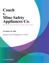 Couch V Mine Safety Appliances Co