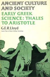 Early Greek Science book