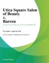 Utica Square Salon Of Beauty V Barron