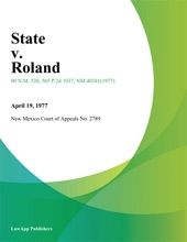State V. Roland