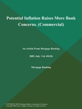 Potential Inflation Raises More Bank Concerns (Commercial)