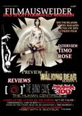FILMAUSWEIDER - Das Splattermovies Magazin - Ausgabe 1 - Human Centipede; Piranha 3DD, REC 3: Genesis, The Bunny Game, The walking Dead Season 3