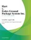 Hart V Fedex Ground Package System Inc