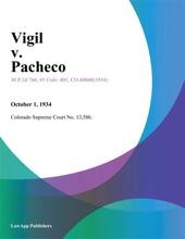 Vigil V. Pacheco.
