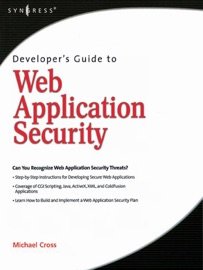 Developer S Guide To Web Application Security